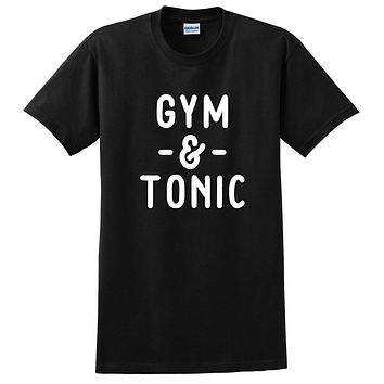 Gym and Tonic, Funny Workout fitness, yoga, gym, muscle, crossfit graphic T Shirt