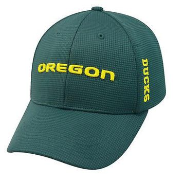 Licensed Oregon Ducks Official NCAA Booster Plus Embroidered Hat Cap by TOW 024855 KO_19_1