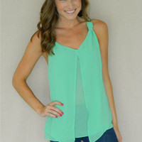 Mint Condition Tank   Girly Girl Boutique