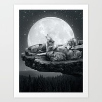 Echoes of a Lullaby Art Print by Soaring Anchor Designs