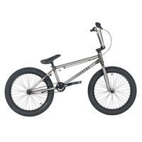 "United 2016 Supreme 20.25"" Gloss Clear Raw Bmx Bike"