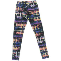 Material Girl Womens Printed Pull On Leggings