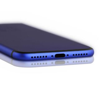iPhone 7 Ocean Blue with Black Lines