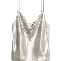 Shimmery Camisole Top - from H&M