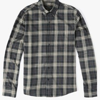 LS Plaid Clean Seam Shirt