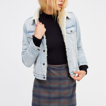 Free People Tessa Plaid Mini Skirt