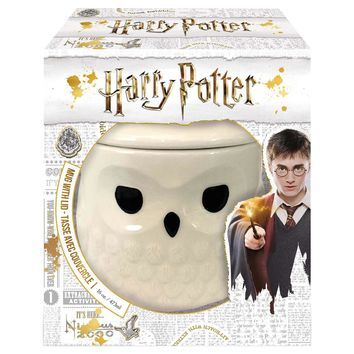 Harry Potter by Onimd Hedwig Mug with Lid New with Box