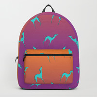 Greyhound Backpack by edrawings38