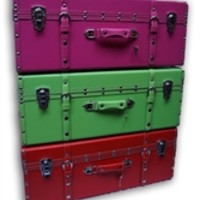 Neon Lights College Trunk (Available in 3 Colors) Products For College Students Dorm Room Accessories Stylish Trunks For College Girls