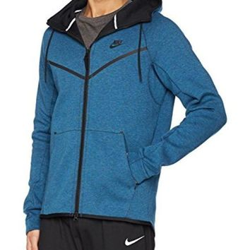 CREY3DS Men's Nike Sportswear Tech Fleece Windrunner Hoodie