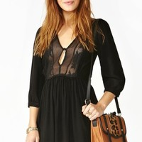 Zeppelin Dress - Black