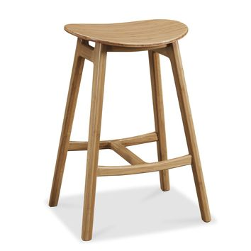 "Skol 26"" Counter Height Stool, Caramelized, (Set of 2)"