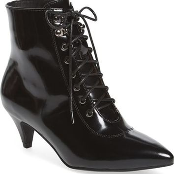 Jeffrey Campbell 'Nessarose' Lace-Up Bootie (Women) | Nordstrom