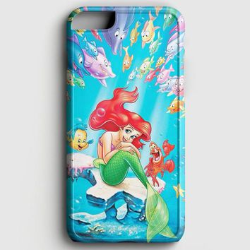 The Little Mermaid Towel iPhone 6/6S Case