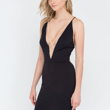 Night On The Town Mesh Minidress