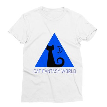 Cat Fantasy World Sublimation T-Shirt