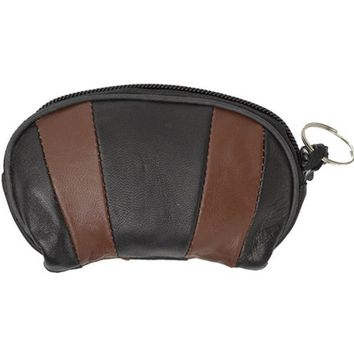 Genuine Leather Change Purse and a Key Chain