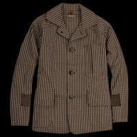 UNIONMADE - Kapital - Tweed Hunting Jacket in Beige