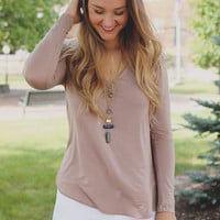 Feel Good Top - Taupe