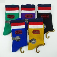 GUCCI FENDI Woman Men Fashion Socks Stockings