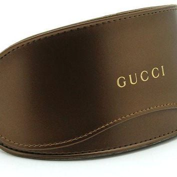 Gucci Oversized Glasses Sunglasses Case W/cleaning Cloth Extra Large