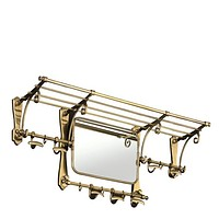 Brass Coat Rack | Eichholtz Old French