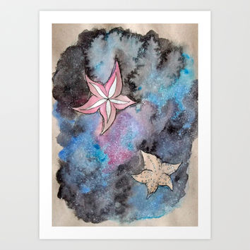 Star Fish  Art Print by Lunacy Eavee