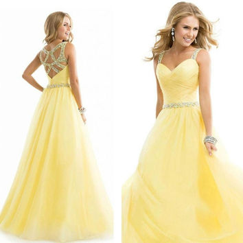 Long Formal Prom Dress Cocktail Party Ball Gown Evening Bridesmaid Dress = 4807063172