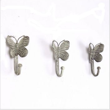 Iron Shirt Creative Luxury Butterfly Hook Hanger [6283579654]