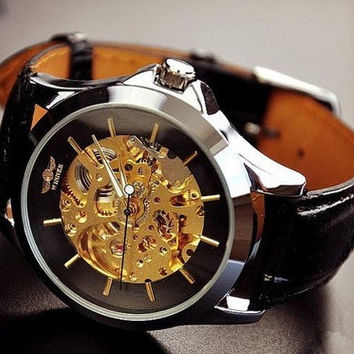 Steampunk Watch,Mechanical watch,Men Wrist Watch  SB05