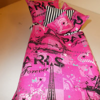 EIFFEL TOWER BED Bed With Paris Comforter Set Beautiful Pink Eiffel Tower Pillow Shams And Matching Sheet Set