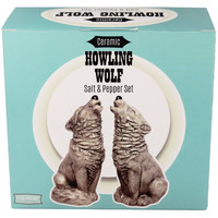 Wolf Howl Duet - Salt & Pepper Set