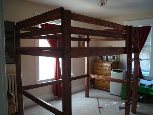 Build Your Own Loft Bunk Bed Twin Full From Amazon Things I