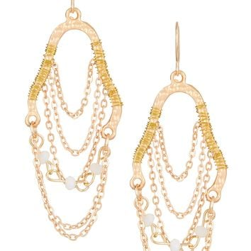 Madison Parker | Beaded Wire Drop Earrings | Nordstrom Rack