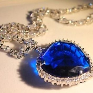 One of a Kind - Jill Bailey's Titanic Replica - Heart of the Ocean Necklace