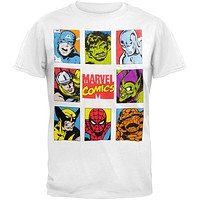 Marvel Heroes - Style Cover Soft T-Shirt