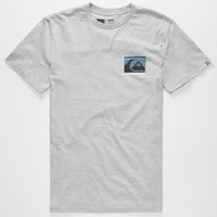 Quiksilver Slang Gang Mens T-Shirt Heather  In Sizes