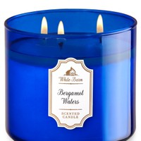 3-Wick Candle Bergamot Waters