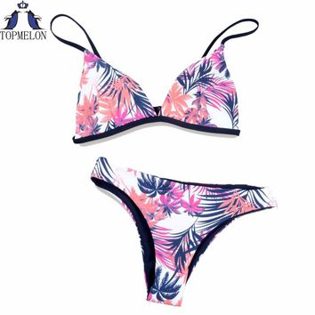 Women swimwear beachwear Bandage bikini swimsuit