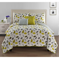 Yellow Leaves Hadley Quilt Set | zulily
