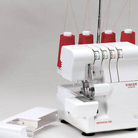 Singer Finishing Touch Mechanical Sewing Machine Sew Manual Serger Delue