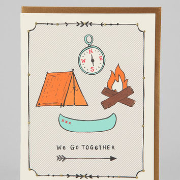 Urban Outfitters - Natalie Eden Camping Card