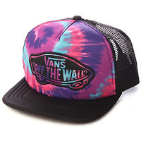 Vans Hat Transport Trucker Tie Dye in Pink Purple
