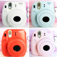 Genuine Fuji  fujifilm Instax Mini 8  suite a Polaroid camera self timer lomo Polaroid film camera imaging
