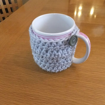 Mug Cozy Crochet Pattern - PDF Pattern - Coffee Mug Cozy - Tea Cup Cozy Crochet Pattern