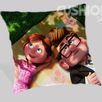 Disney Up carl and ellie Pillow Cover