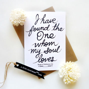 Groom to Bride Card. Bride-Groom Card. Wedding Day. I have found Card. Anniversary, Valentine's Card.