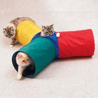The Green Head - Three Way Cat Tunnel
