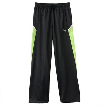 puma colorblock core track pants boys 8 20 size  number 1