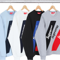 Supreme Athletic Split Crewneck